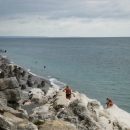 Белые скалы. Курортный поселок Цандрипш. Абхазия.