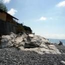 Белые скалы - нагромождение каменных пород. Абхазия.