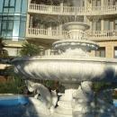 У отеля «Дельфин Резорт». Центр Сочи.