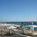 Пляжи в центре Сочи.