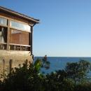 Вид на Черное море у кафе «Восточный квартал».