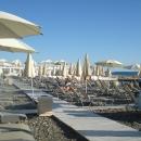 Пляж отеля «Мориса Тореза». Центр Сочи.