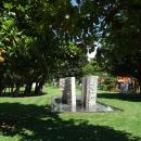 Территория комплекса Slovenska plaza в Будве.