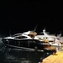 Порт Будвы вечером. Яхты в Будве.