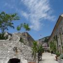 Цитадель (Морская крепость Святой Марии) в Старом городе Будвы.