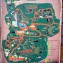 Схема (План) Сафари-парка, Геленджик.
