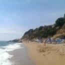 Пляж Plaja de Garbi - западная часть пляжей Калельи. Испания.