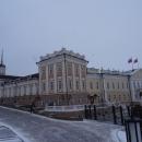 Главный и Представительский корпуса Пушечного двора в Казанском кремле.