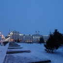Комплекс Пушечного двора на территории Казанского кремля.
