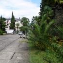 Улицы Цандрипш Абхазия.