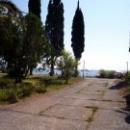 Путь на пляж в Цандрипше Абхазия.