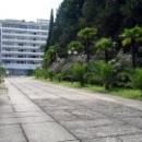 Главный корпус пансионата Псоу Цандрипш Абхазия.