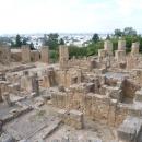 Вид на современный город Тунис с холма Бирса.