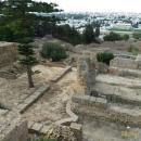 Современный Тунис с территории Карфагена.