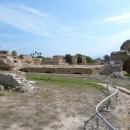 Руины древнего Карфагена в Тунисе.