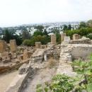 Холм Бирса в Карфагене. Вид на город Тунис.
