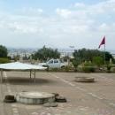 Вид на город Тунис с площади Карфагена.