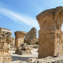 Экскурсия по древностям Карфагена в Тунисе.