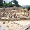 Зоны раскопок Карфагена в Тунисе.