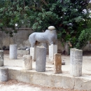 Остатки скульптур Карфагена. Тунис.
