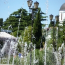 Купола собора Святого Архангела Михаила. Сочи.