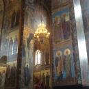 Мозаика Церкви Воскресения Христова в Санкт-Петербурге.