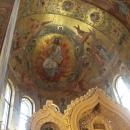 Центральный неф собора Спаса-на-Крови.