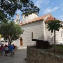 Православная церковь Святой Троицы в византийском стиле в Будве.
