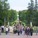 Екатерининский дворец и парк в Пушкине. Санкт-Петербург.