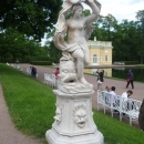 Скульптура «Галатея» 18 века в Екатерининском парке.