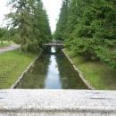 Пейзажный парк на территории Екатерининского парка. Царское село.