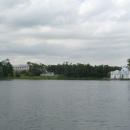 Вид на павильон «Грот» и Камеронову галерею.