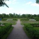 Английский парк в Екатерининском парке. Царское село. Санкт-Петербург.