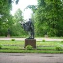 Скульптуры в Екатерининском парке. Пушкин (Царское село).