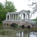 Мраморный мост в Екатерининском парке. Пушкин (Царское село) Санкт-Петербург.