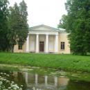 Вечерний зал на территории Екатерининского парка.