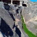 Пещерный Уплисцихе в Грузии.