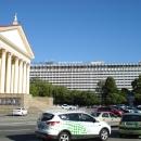 Вид на гостиницу «Жемчужина» и Зимний театр. Центр Сочи.