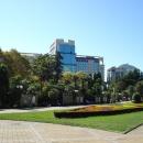 Площадь Искусств в центре города Сочи.