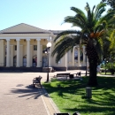 Летний театр в парке имени Фрунзе.