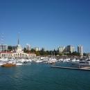 Сочи Гранд Марина. Морской порт Сочи.
