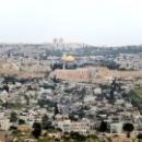 Вид на Храмовую гору и Золотой Купол Скалы.