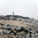 Вид на столицу Израиля – город Иерусалим.