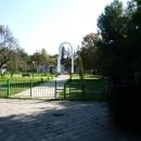 Памятник в городе Пицунда. Абхазия.