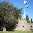 Крепостные стены XVI века монастырского комплекса Пицунды.