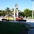 Центральная площадь Курорта Пицунда. Абхазия.