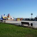 У пирса на курорте Пицунда. Абхазия.