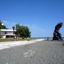 Скульптура на мысе «Курорт Пицунда». Абхазия.