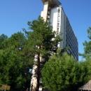 Новый маяк на крыше корпуса Маяк. Курорт Пицунда. Абхазия.