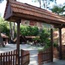 Кафе на курорте Пицунда. Абхазия.